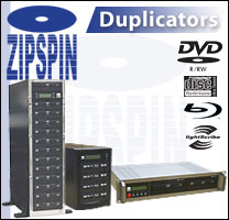 ZipSpin duplicators in data storage solutions