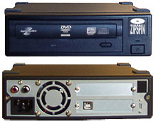 Blu-ray and DVD External USB lightScribe duplicators