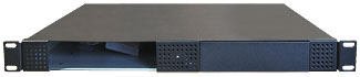 Rackmount R1U TAPE Enclosures FRONT