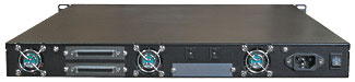 R1U Tape Rackmount Enclosures BACK