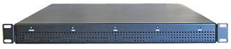Rackmount 1U fixed enclosure