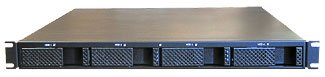 R1U REM rackmount network storage enclosures