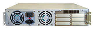 Rackmount R2U BACK BAYS for network storage enclosures