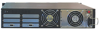 Rackmount R2U 6HDD 2 BAYS BACK Enclosures