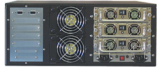 Rackmount R4U 12HDD 4 BAYS Enclosures BACK