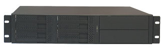 Rackmount R2U 6HDD 2 BAYS in Enclosures